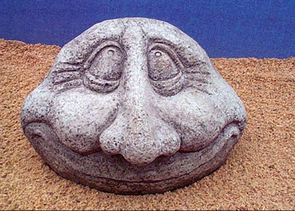 Harper S Statuary Amp Water Gardens Smiley Face Stone